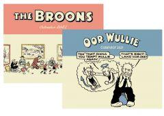 The Broons & Oor Wullie Calendars Pack 2021