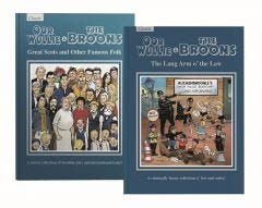 The Broons & Oor Wullie Gift Book Pack