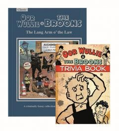 The Broons and Oor Wullie Gift Book & Trivia Book