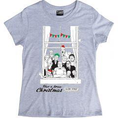 The Broons Christmas Window Ladies T-shirt