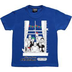 The Broons Christmas Window Kids T-shirt