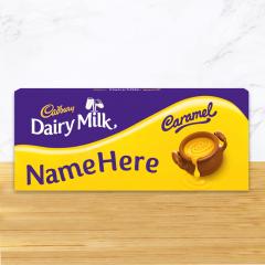 Personalised Cadbury Caramel Share Pack