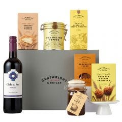 The Sweet and Savoury Selection with Red Wine Hamper