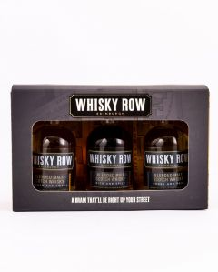 Miniature Whisky Row Gift Set