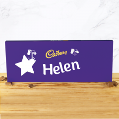 Personalised Cadbury Dairy Milk Bar 850g - Star