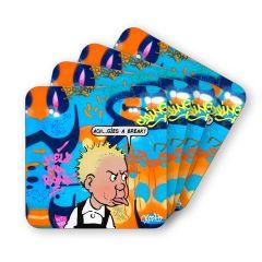 Cheeky Wullie Coasters (4)