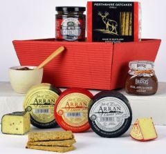 Cheese & Chutney Gift Tray Hamper