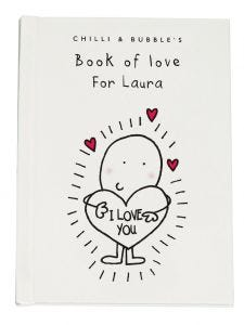 Personalised Book of Love for Her