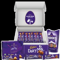Personalised Cadbury Chocolate Lovers Easter Hamper