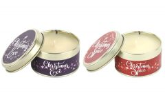 Christmas Eve and Christmas Spice Candle Pack