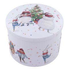 Christmas Party Vanilla Fudge Tin