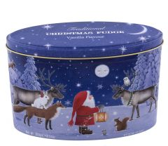 Christmas Santa & Moon Vanilla Fudge