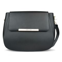 City Bag in Black Leather
