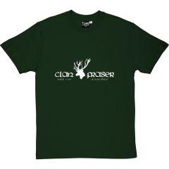 Outlander-style Clan Fraser T-shirt