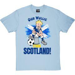 Oor Wullie C'MON SCOTLAND T-Shirt
