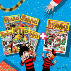 Beano Comic Subscription Christmas Gift