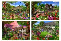 Cottage Garden Jigsaw Collection