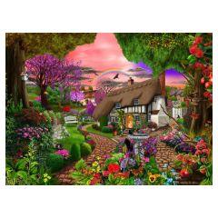 Cottage Garden Rainbow Jigsaw