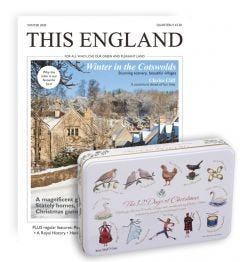 This England Magazine Subscription (Fudge Tin)