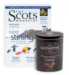 The Scots Magazine Subscription (Glengoyne Whisky Fudge)