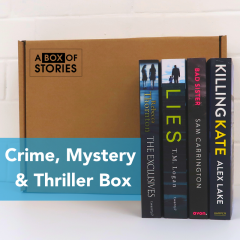 Crime Mystery & Thriller Box of 4 Surprise Stories