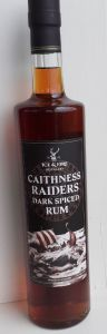 Caithness Raid Dark Rum 70cl