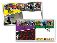 Batman and Joker First Day Cover Pair