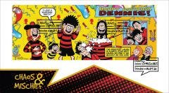 Dennis & Gnasher Miniature Sheet First Day Cover