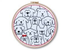 Dogs Embroidery Kit
