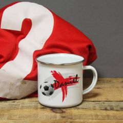 England Flag Enamel Mug