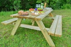 Evlo Deluxe Frame Picnic Table