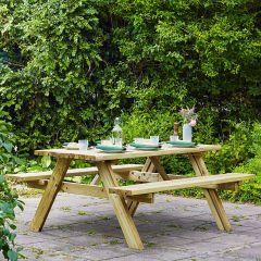 Evlo Standard Frame Picnic Table