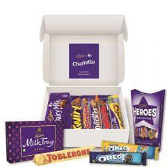 Personalised Cadbury Chocolate Hamper