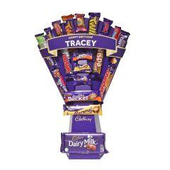 Personalised Cadbury Mixed Chocolate Bouquet