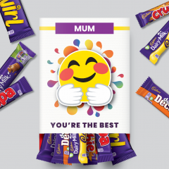 You're the Best Mixed Cadbury Favourites Box - Hug