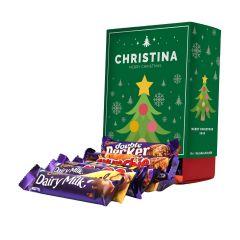 Personalised Cadbury Mixed Favourites Tree Box