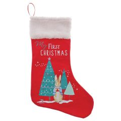 Peter Rabbit™ My First Christmas Stocking (Red)