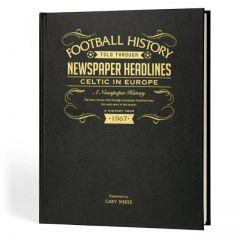 A3 Football Newspaper Book - Celtic in Europe