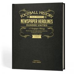 A3 Football Newspaper Book - Dundee United