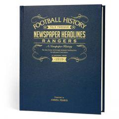 A3 Football Newspaper Book - Rangers