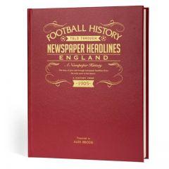 A3 Football Newspaper Book - England