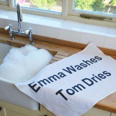 Personalised Tea Towel