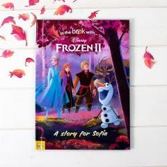 Personalised Frozen 2 Book