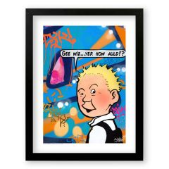 Oor Wullie Gee Wiz Sleek Prints and Canvases