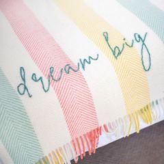 Hand Embroidered Woollen Blanket