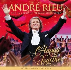 """André Rieu """"Happy Together"""" CD/DVD Set - Deluxe Edition"""