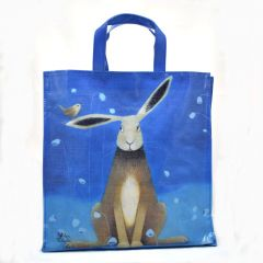 Hare Bells Shopping Bag by Ailsa Black