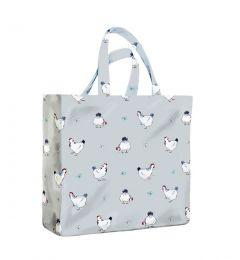 Hen House Medium Gusset Bag