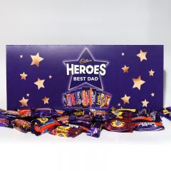 Personalised Large Cadbury Heroes Letterbox Selection 580g