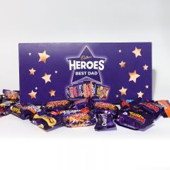 Personalised Small Cadbury Heroes Letterbox Selection 290g